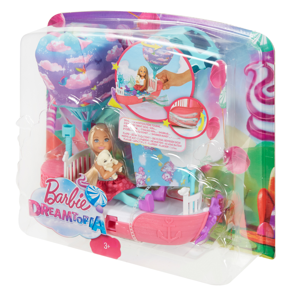 Afbeelding van Barbie Dreamtopia - Chelsea's Magische Droomboot