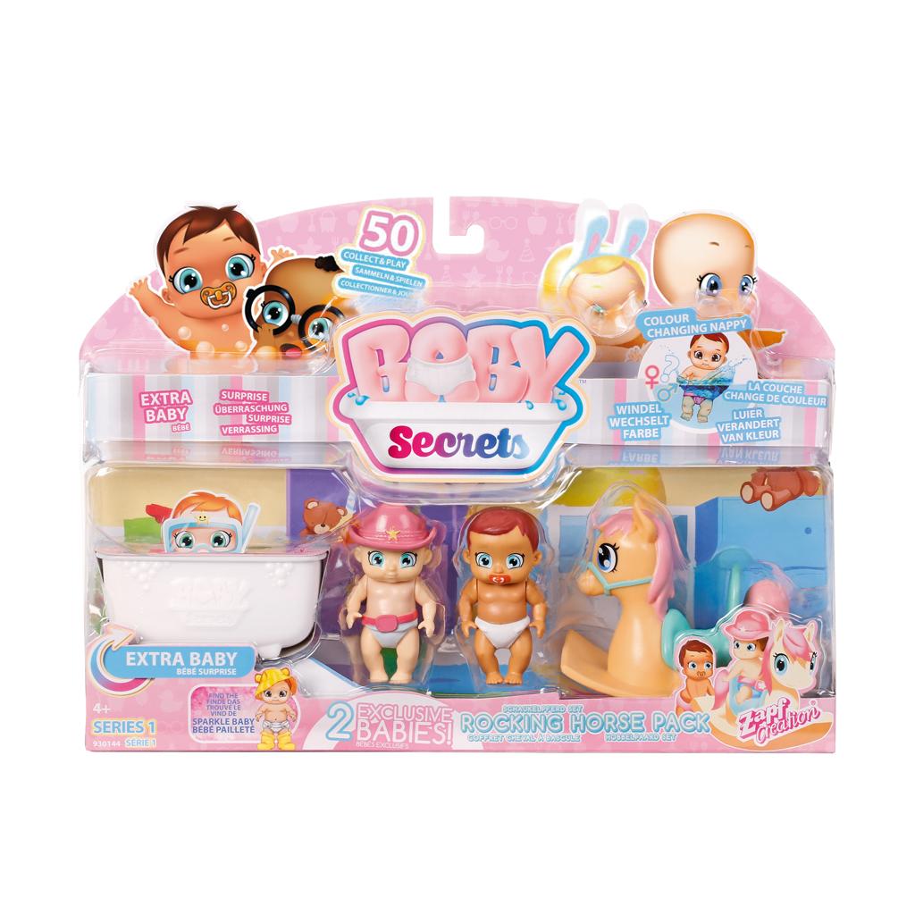 Afbeelding van Baby Secrets Hobbelpaard Pakket