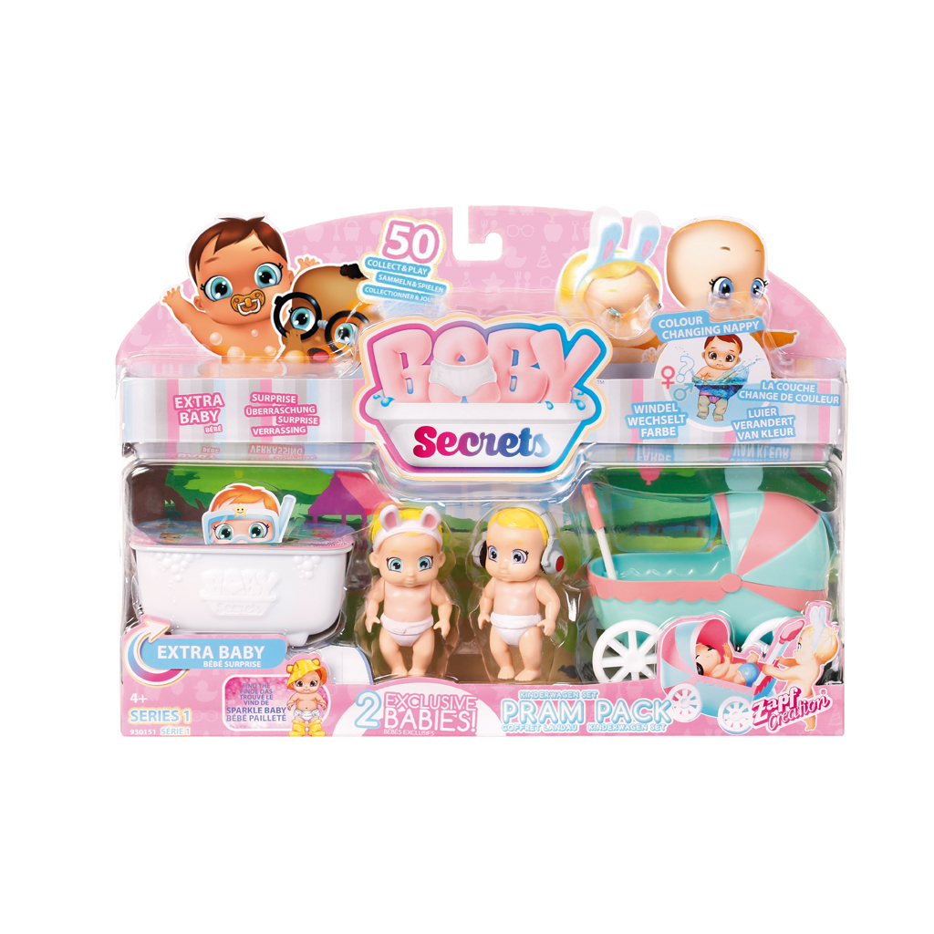 Afbeelding van Baby Secrets Kinderwagen Pakket