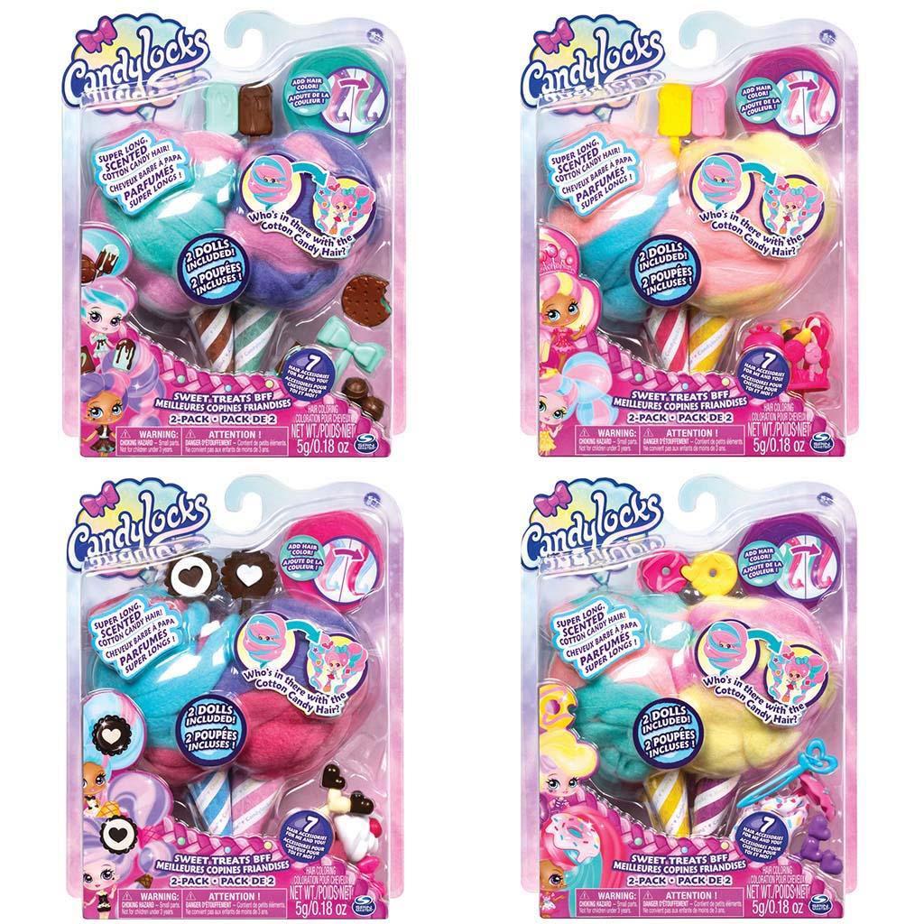 Afbeelding van Candylocks Basic Doll 2 Pack Assorti