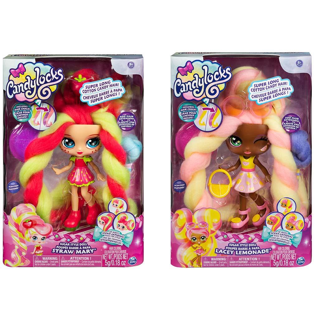 Afbeelding van Candylocks Deluxe Doll Assorti
