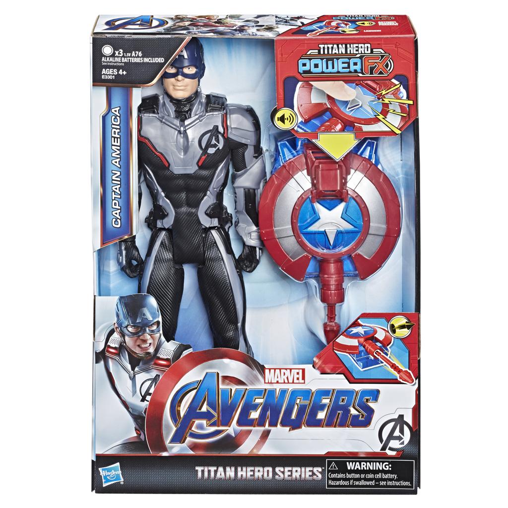 Afbeelding van Avengers Titan Hero Power FX Captain America