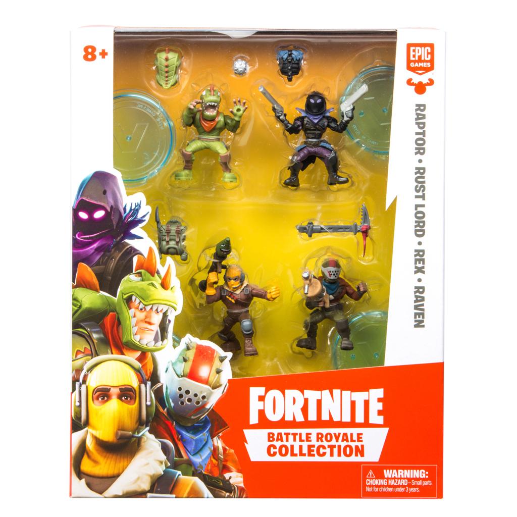 Afbeelding van Fortnite Figuur 5 Cm Squad 4 Pack