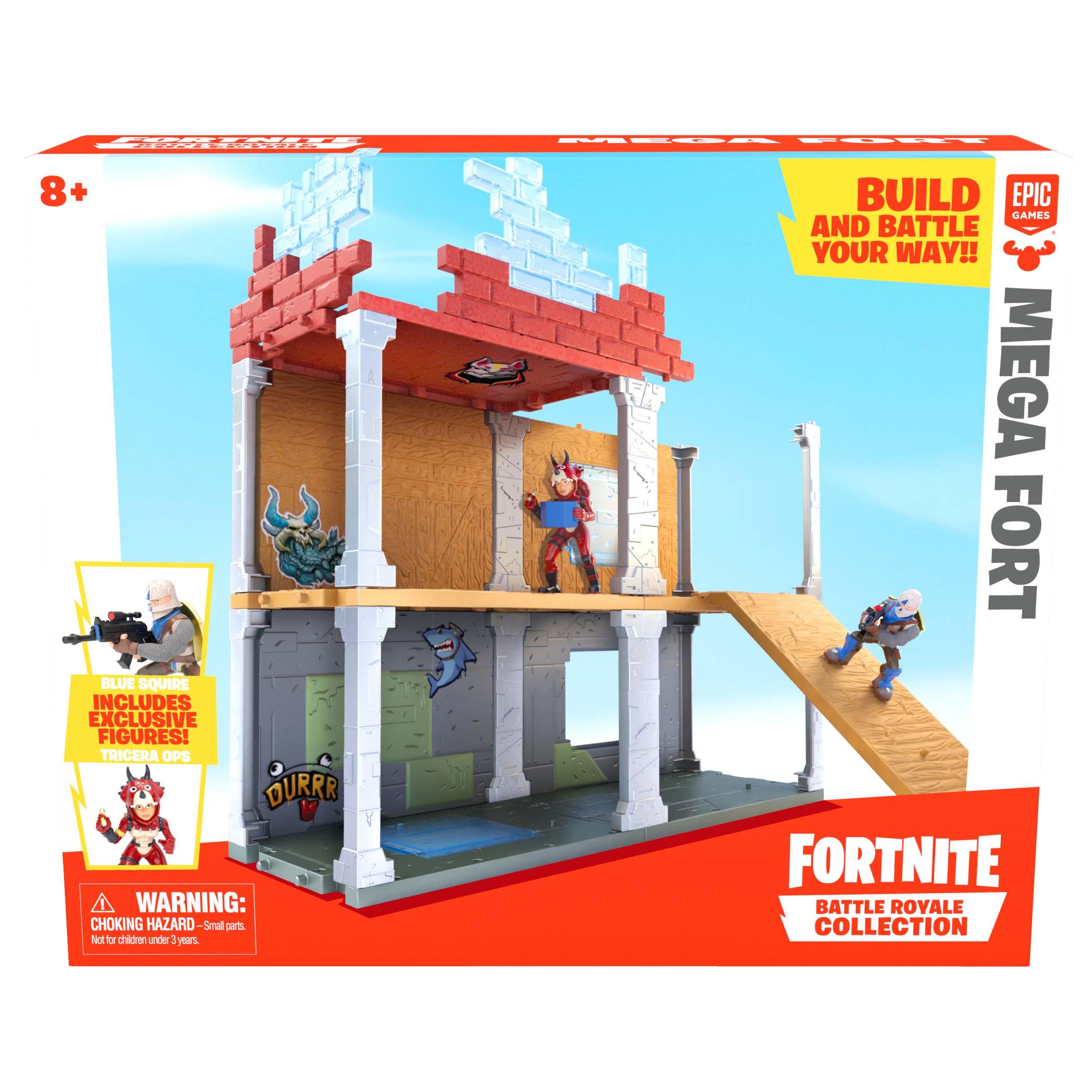 Afbeelding van Fortnite Figuur 5 Cm Playset Mega Fort