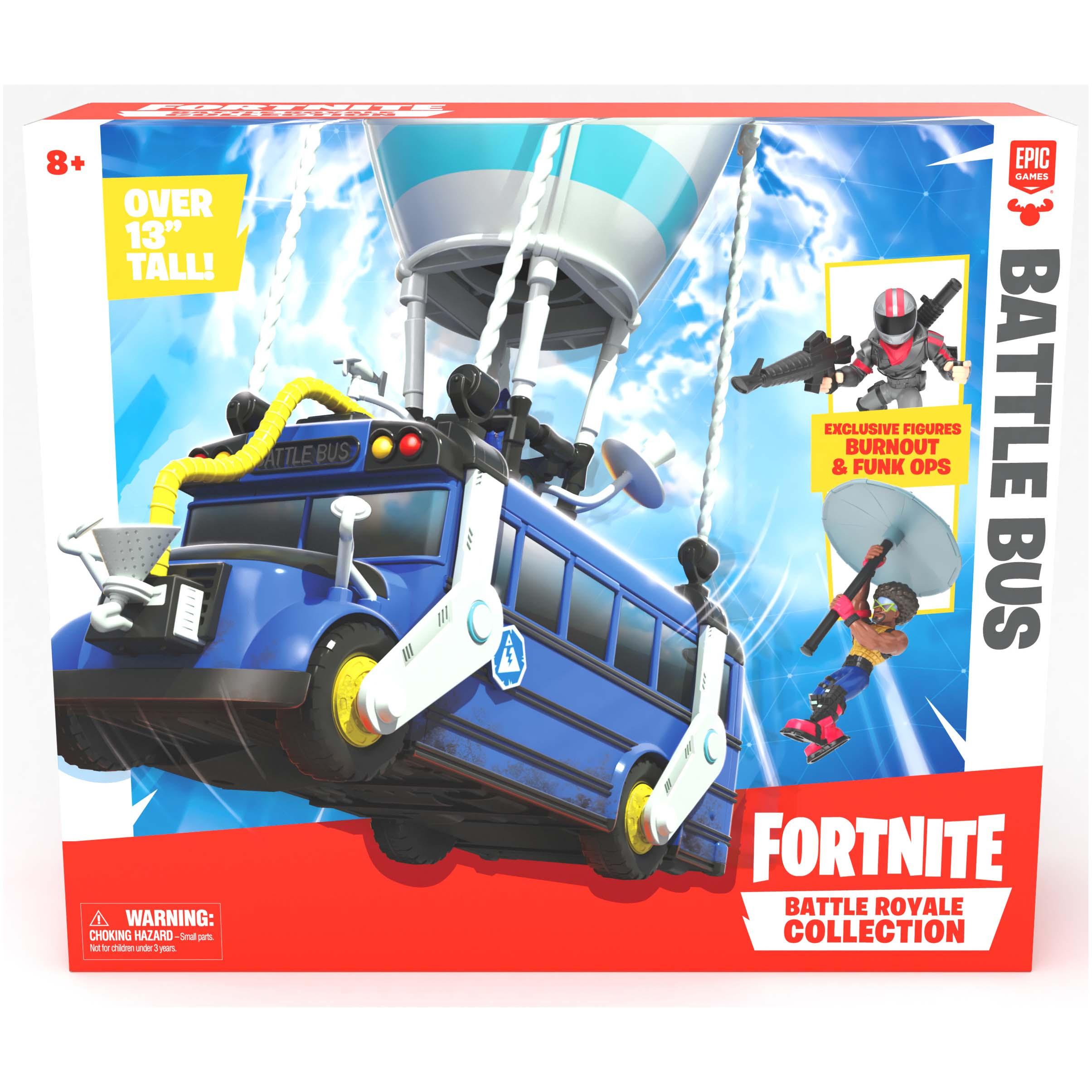 Afbeelding van Fortnite Figuur 5 Cm Playset Battle Bus