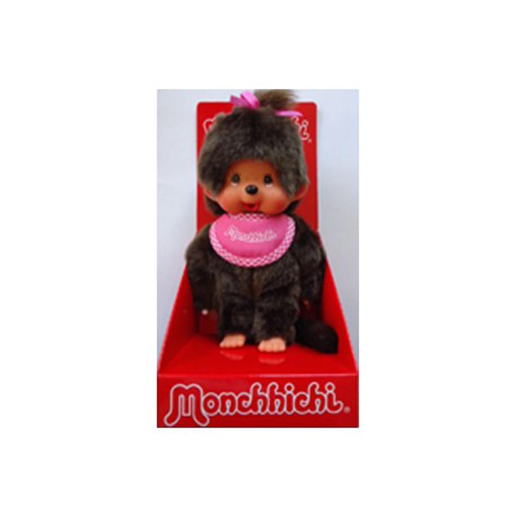 Afbeelding van Monchhichi 20 Cm Meisje Roze Met Slab