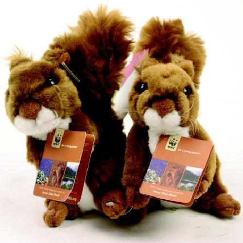 Afbeelding van Eekhoorn WWF 15 Cm Assorti