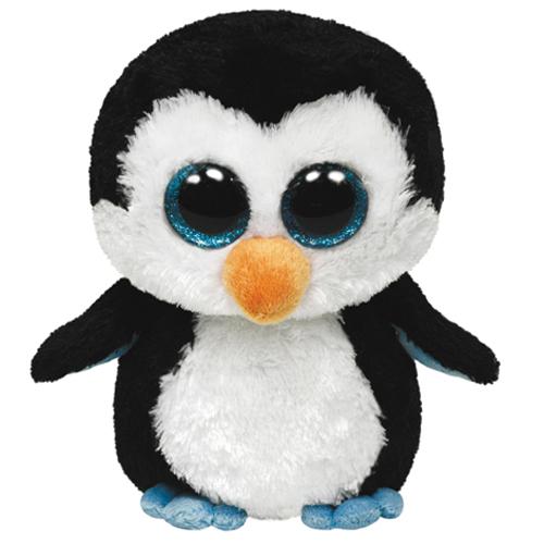 Afbeelding van Beanie Xl Ty Pinguïn Waddles 42 Cm