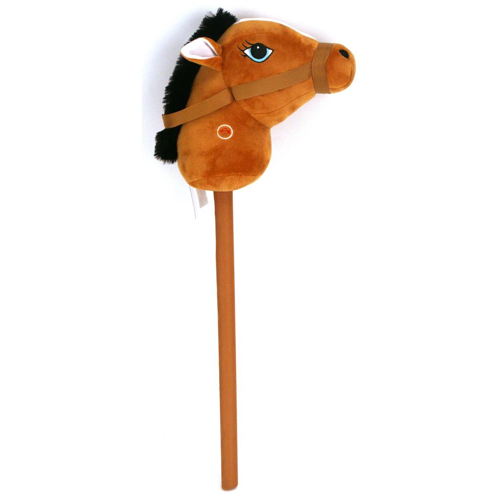 Afbeelding van Stokpaardje Met Geluid 68 Cm Pluchiez