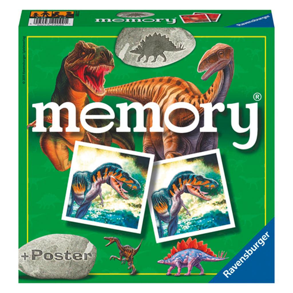 Afbeelding van Spel Memory Dinosaurussen