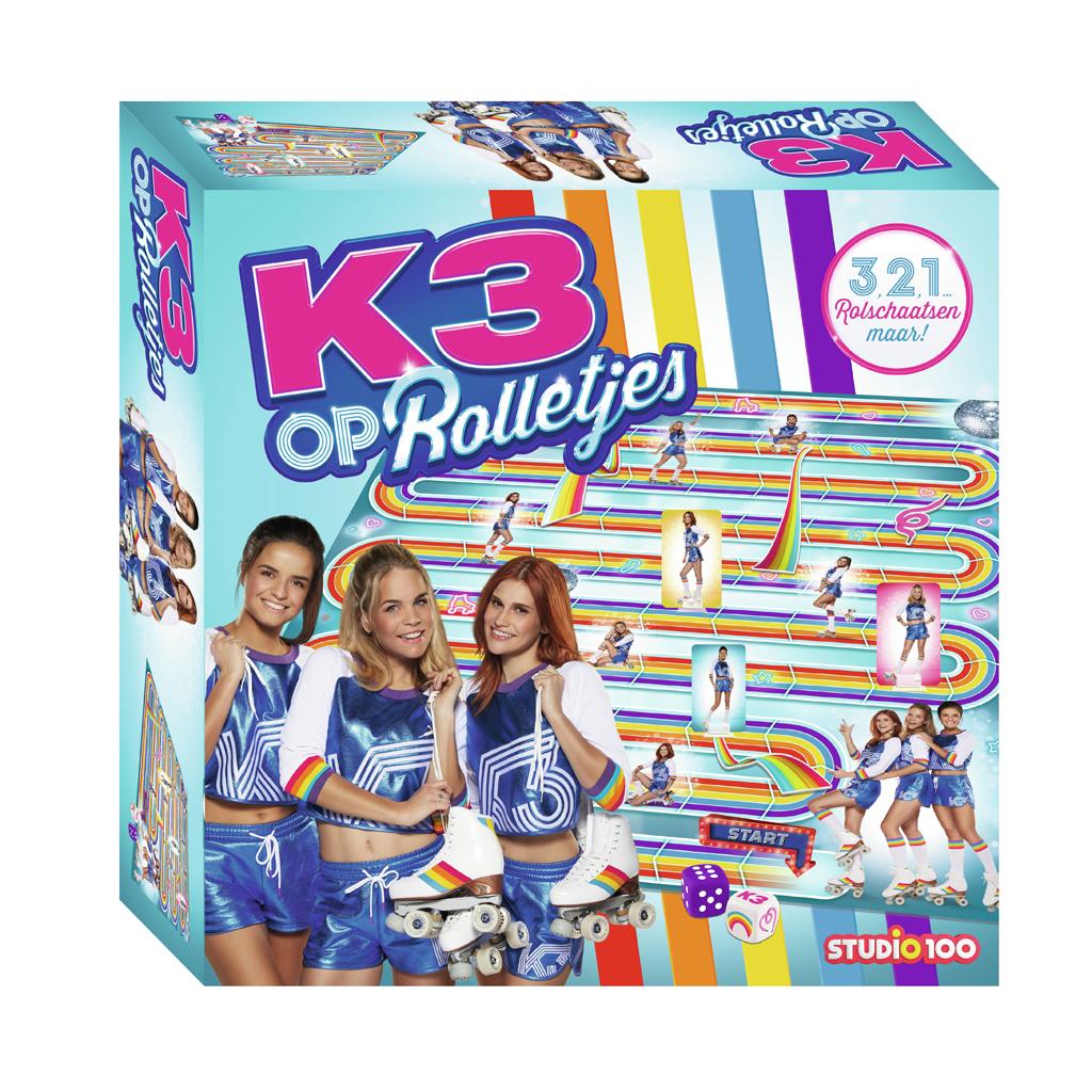 Afbeelding van K3 Spel Op Rolletjes