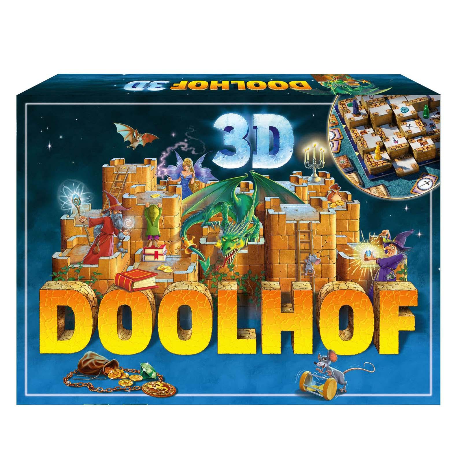 Afbeelding van Spel Doolhof 3D