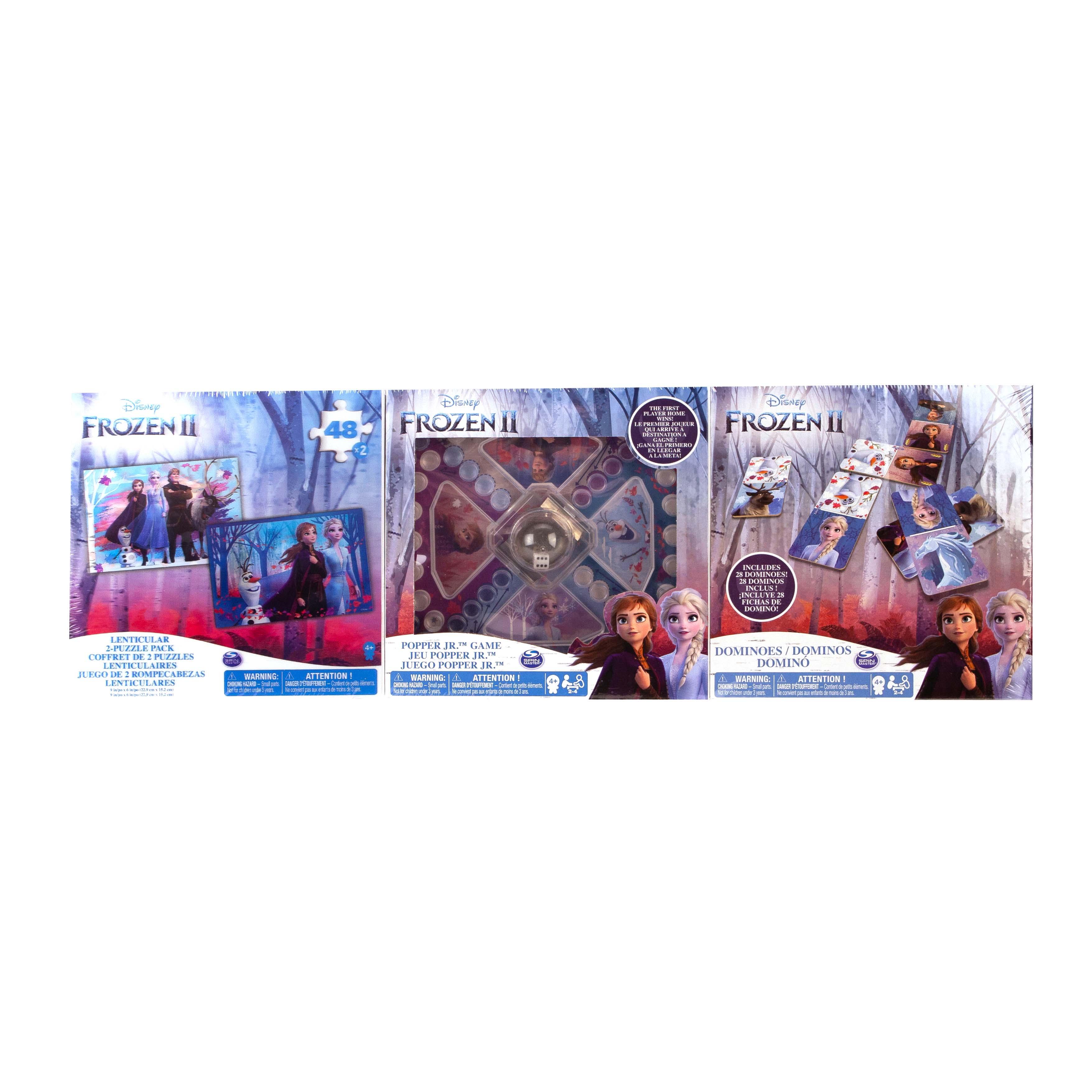 Afbeelding van Frozen 2 3 Pack Games Bundle
