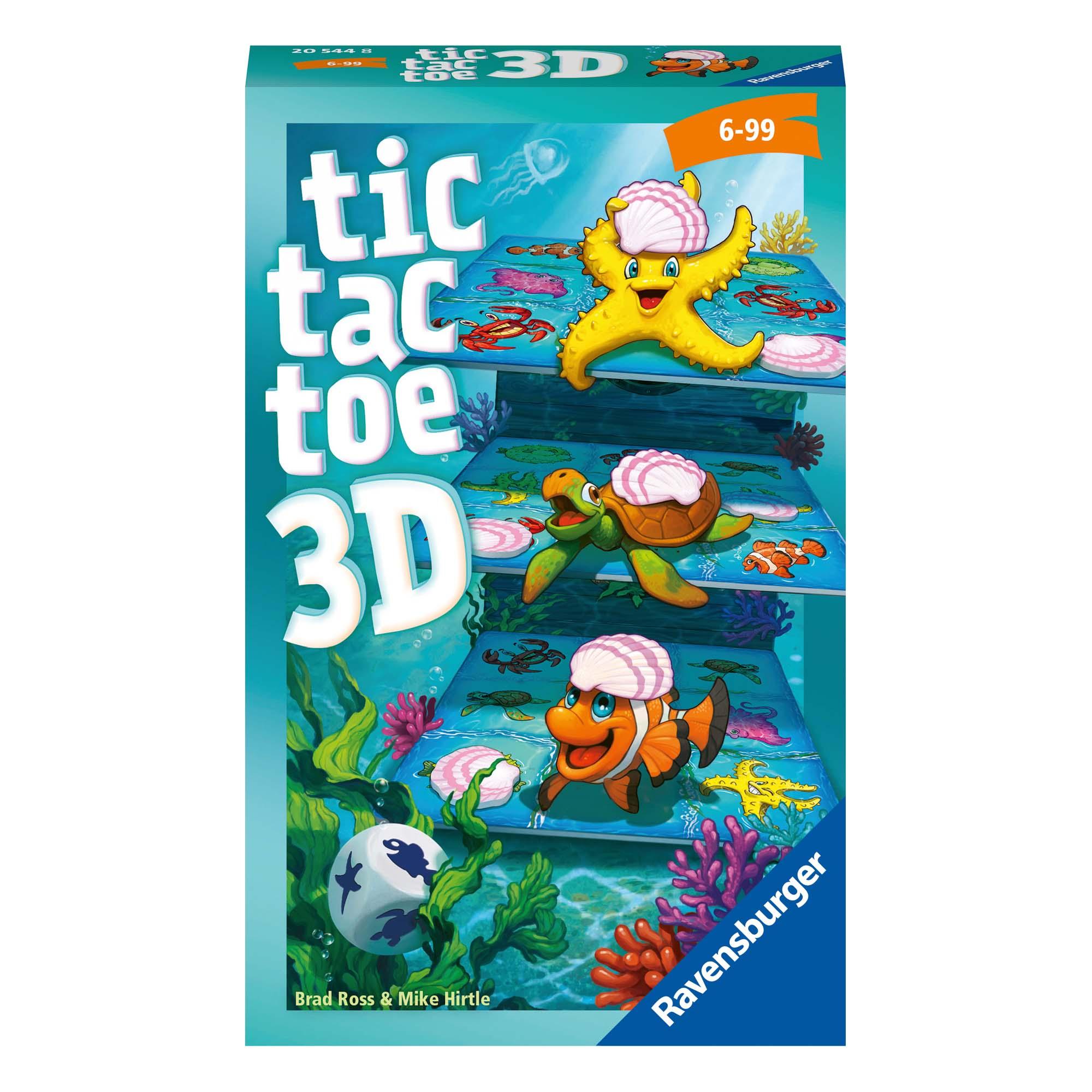 Afbeelding van Spel Boter Kaas Eieren 3D Pocket