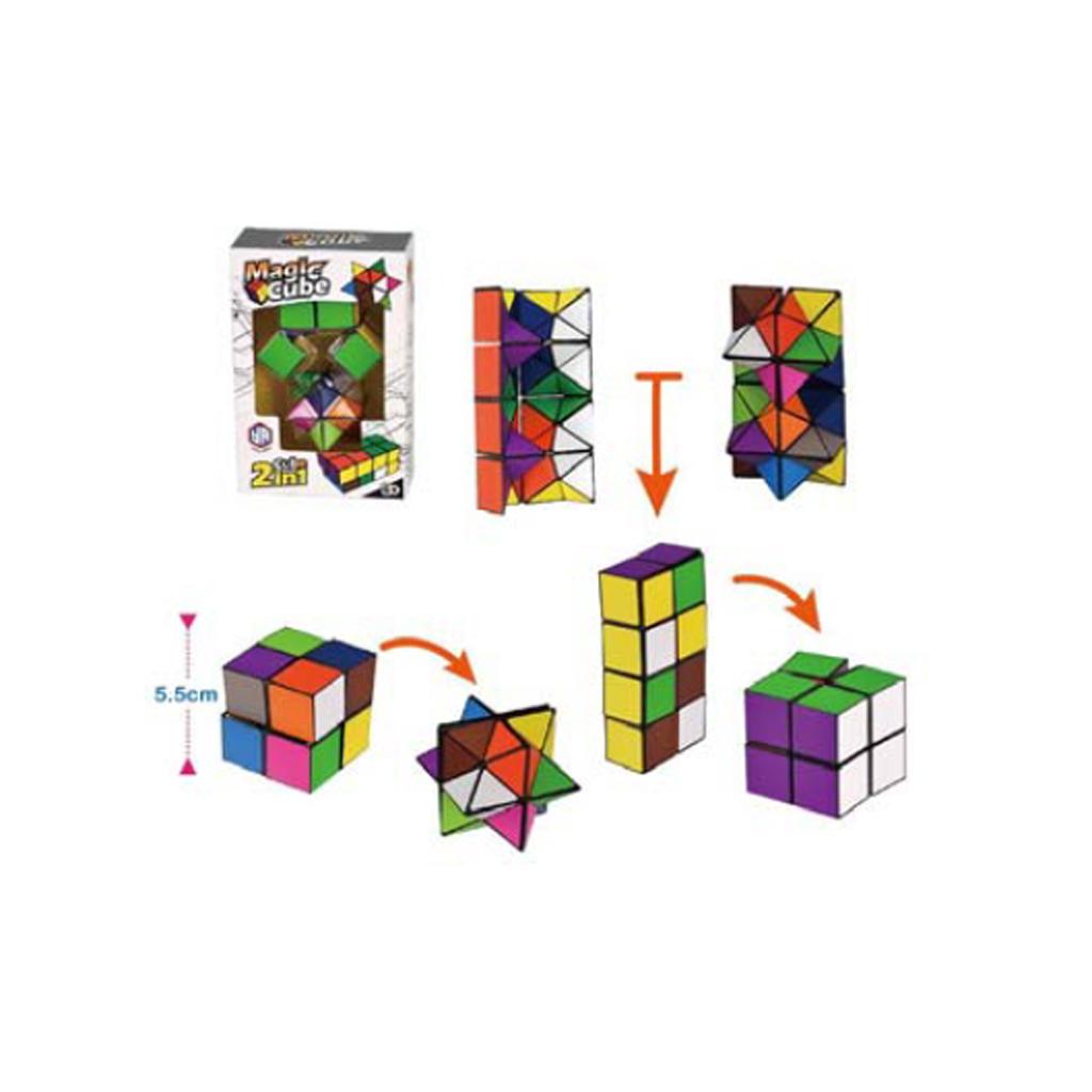 Afbeelding van Spel Magische Kubus 2 In 1