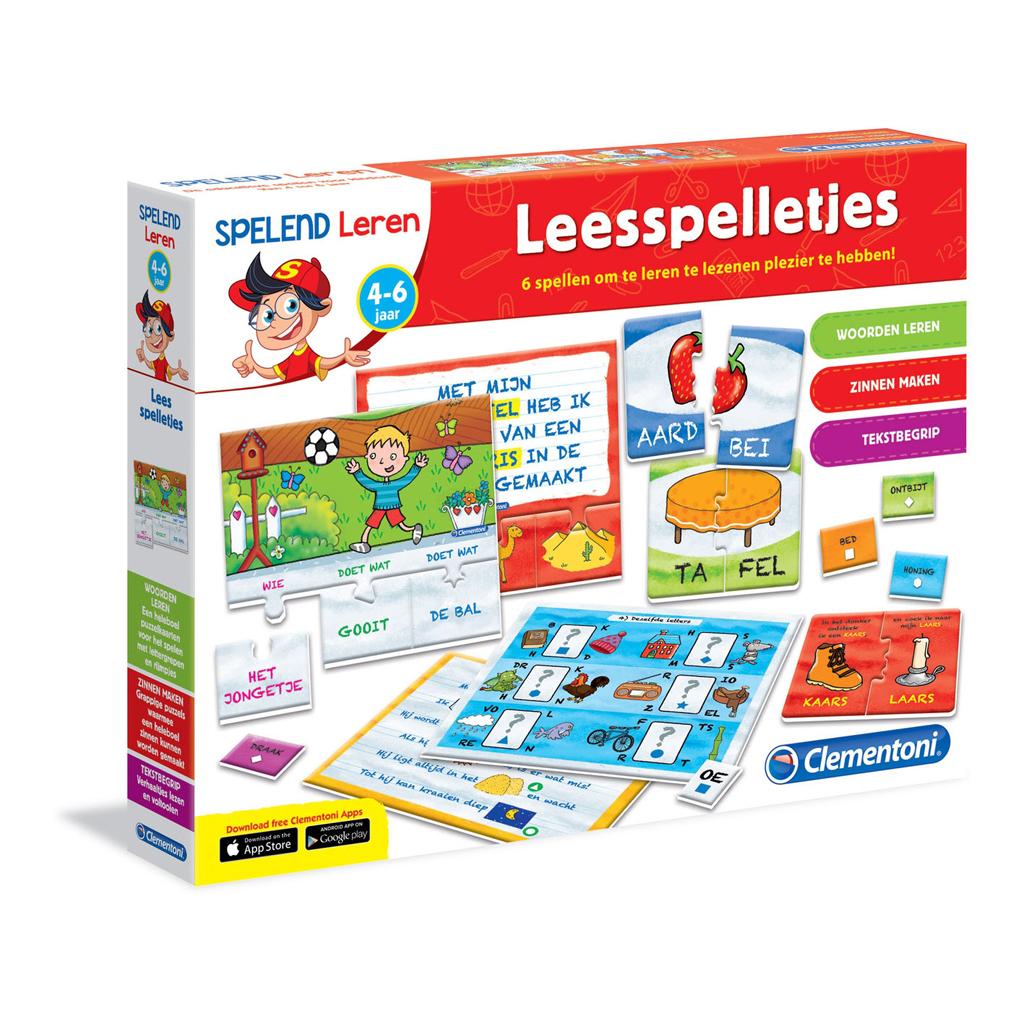 Afbeelding van Leesspelletjes 4 - 6 Jaar (NL)