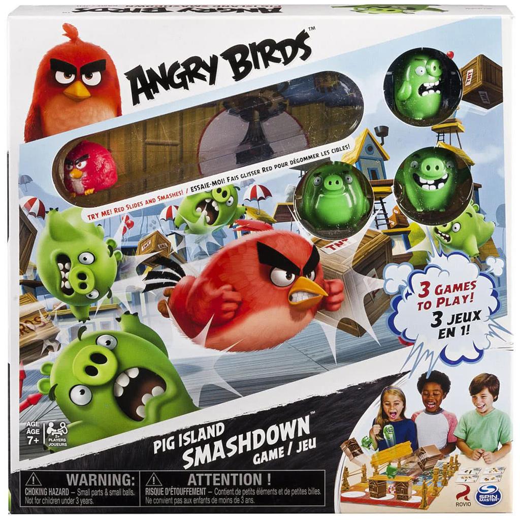 Afbeelding van Angry Birds Smashdown Game 3 in 1