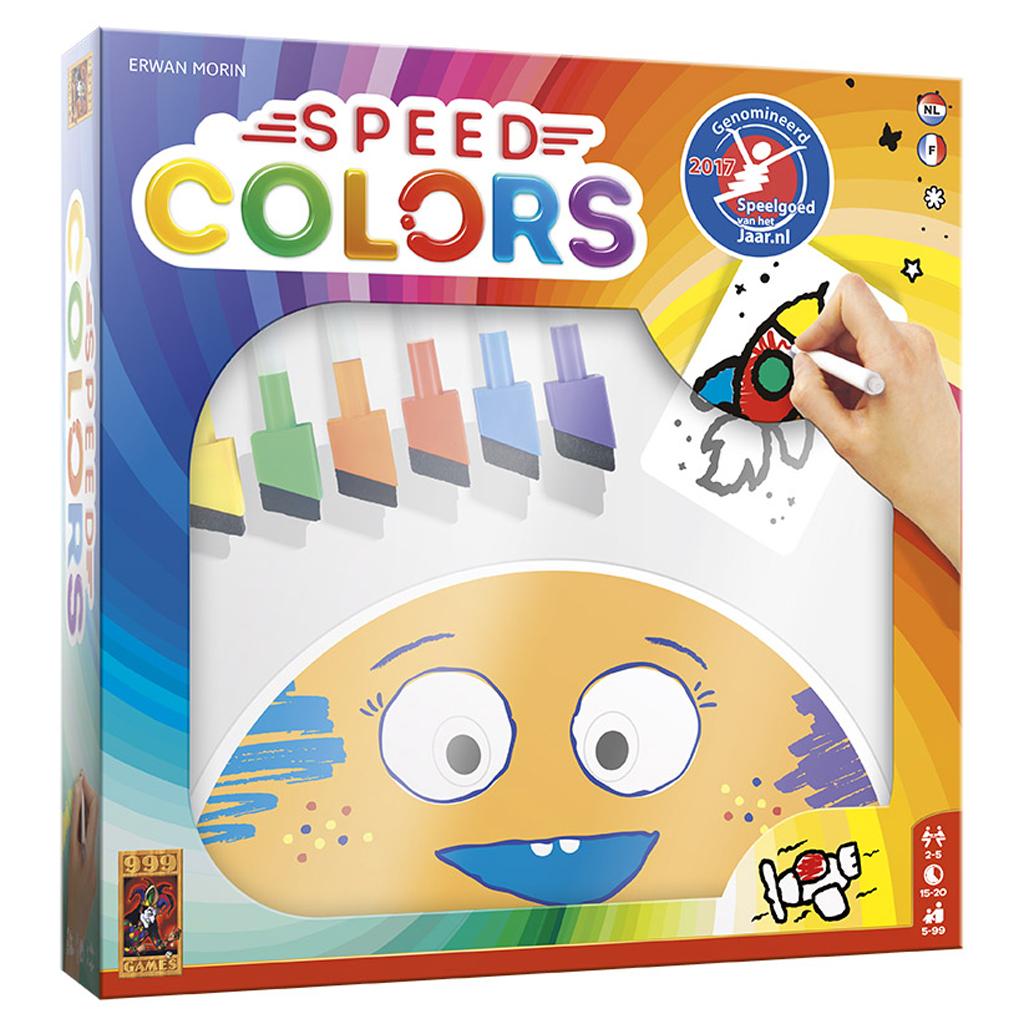 Afbeelding van Spel Speed Colors