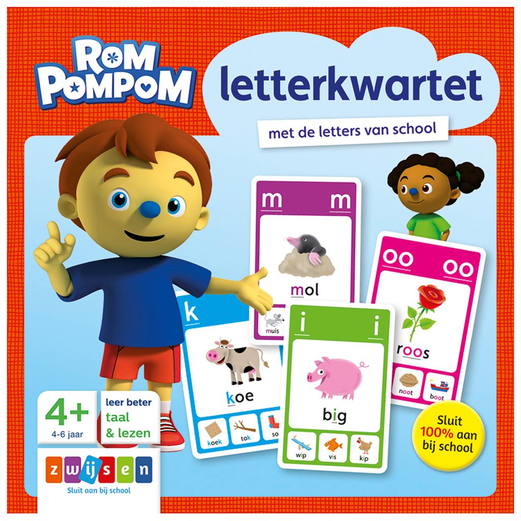Afbeelding van Letterkwartet Rompompom