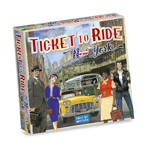 Afbeelding van Spel Ticket To Ride New York
