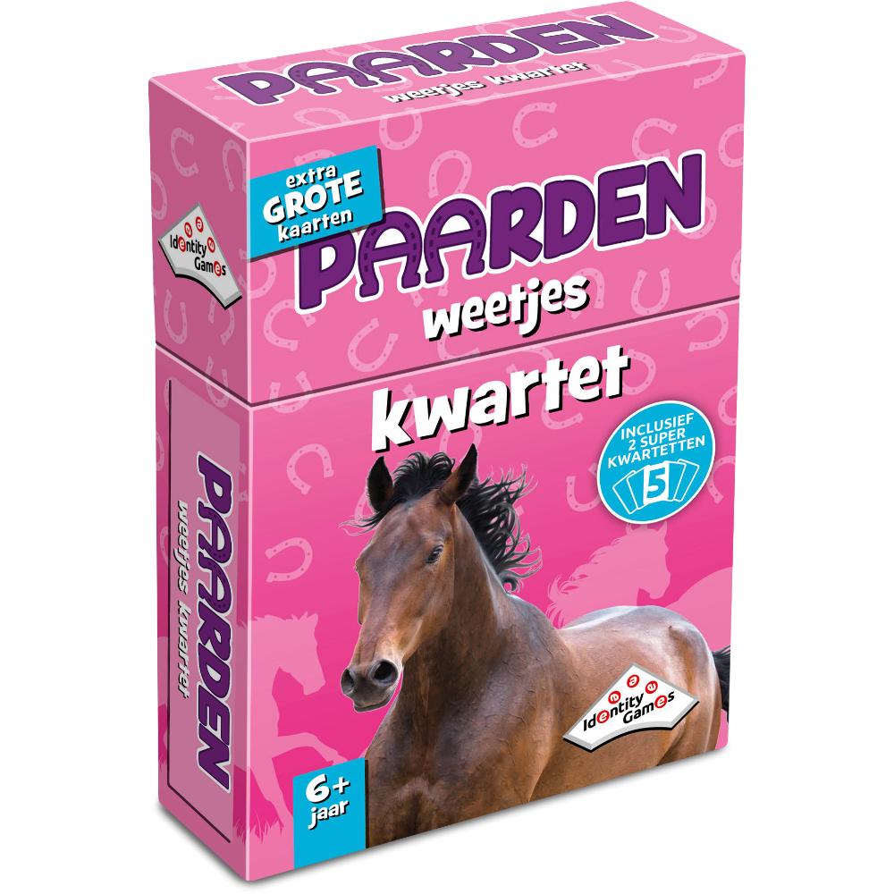 Afbeelding van Spel Weetjes Kwartet Paarden