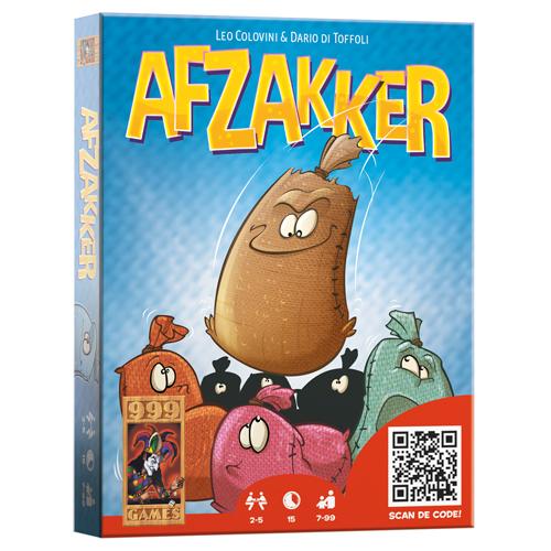 Afbeelding van Spel Afzakker Kaartspel