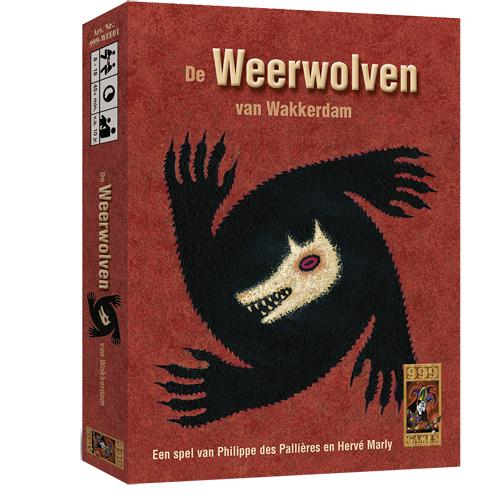 Afbeelding van Kaartspel De Weerwolven Van Wakkerdam