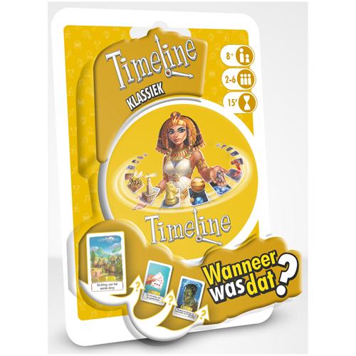 Afbeelding van Spel Timeline Klassiek Blister