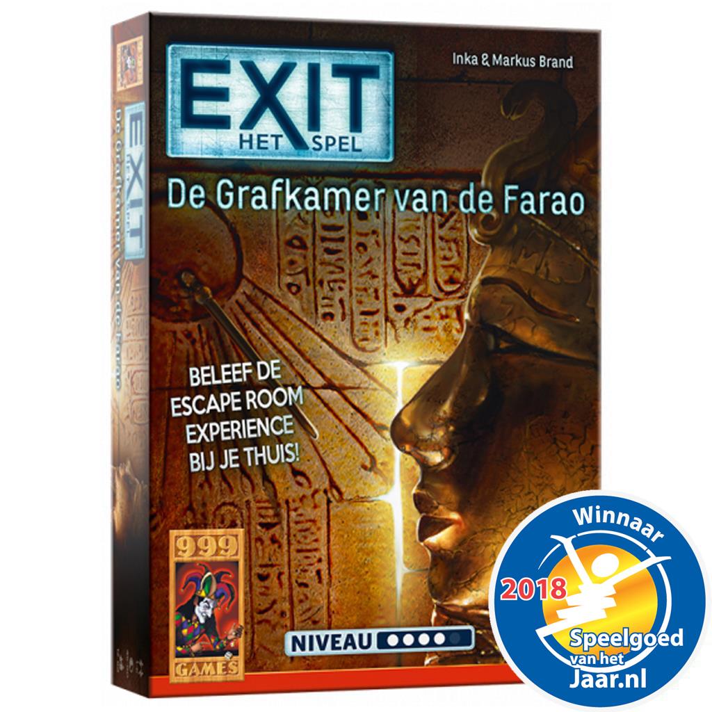 Afbeelding van Spel Exit - De Grafkamer Van De Farao