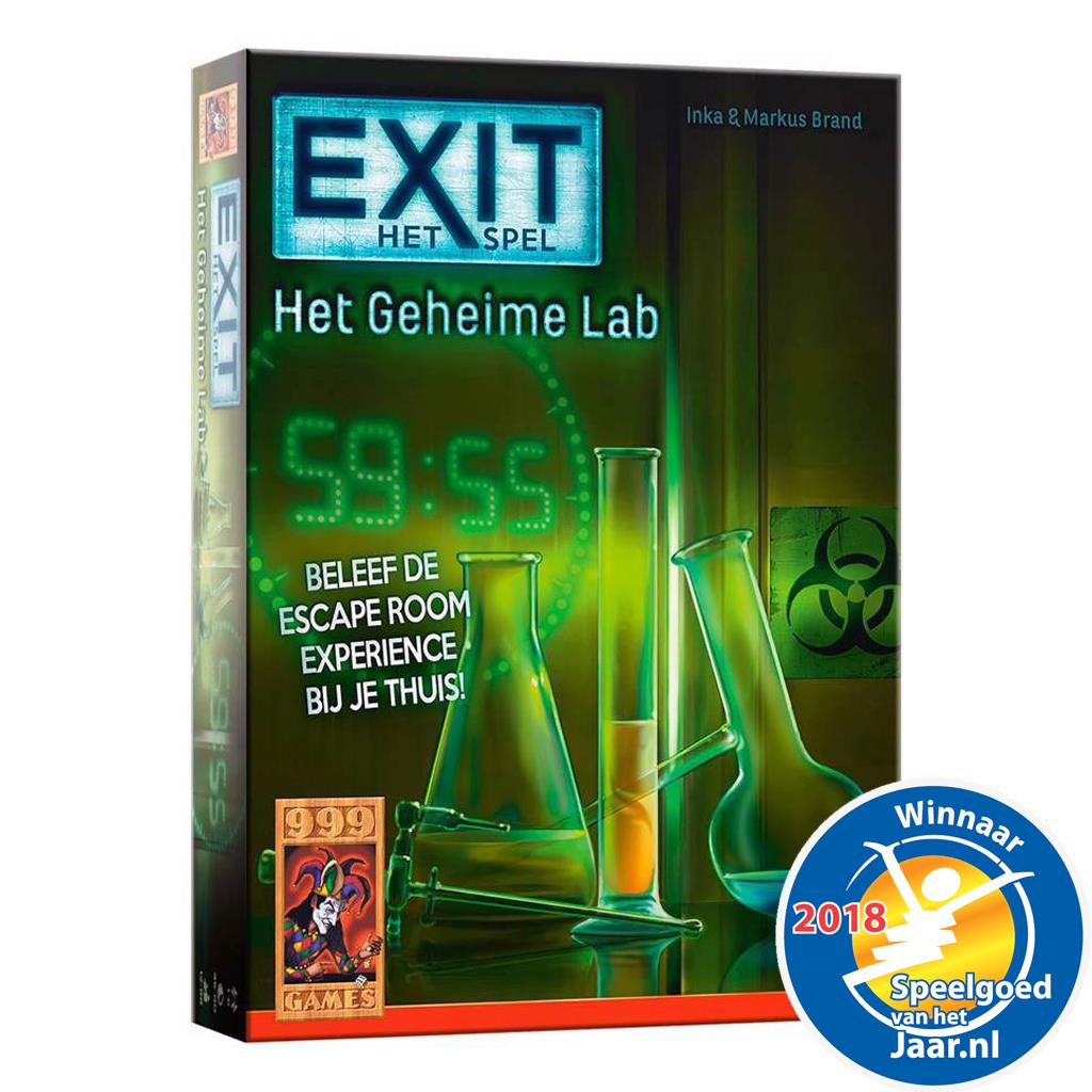 Afbeelding van Spel Exit - Het Geheime Lab
