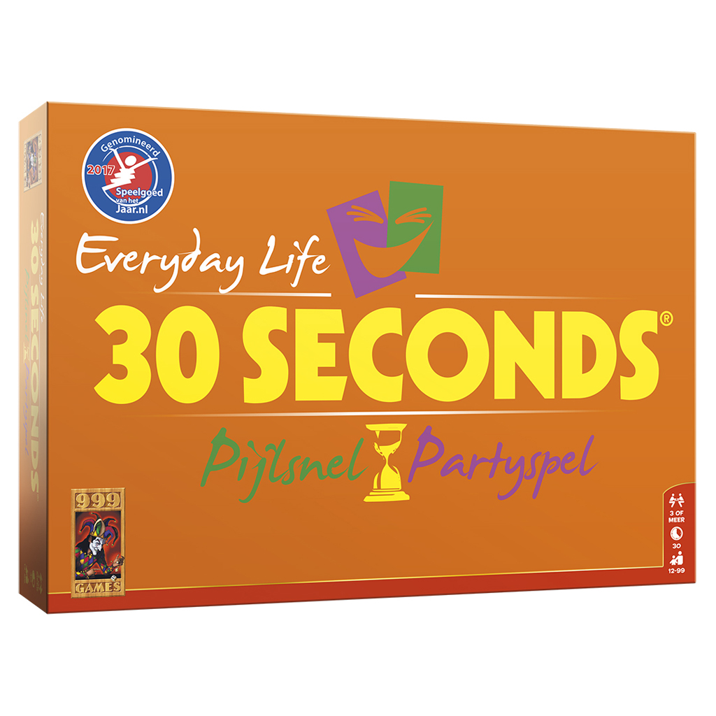 Afbeelding van Spel 30 Seconds Everyday Life