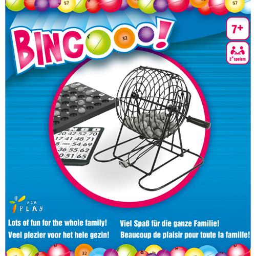 Afbeelding van Bingomolen Metaal 75 Ballen