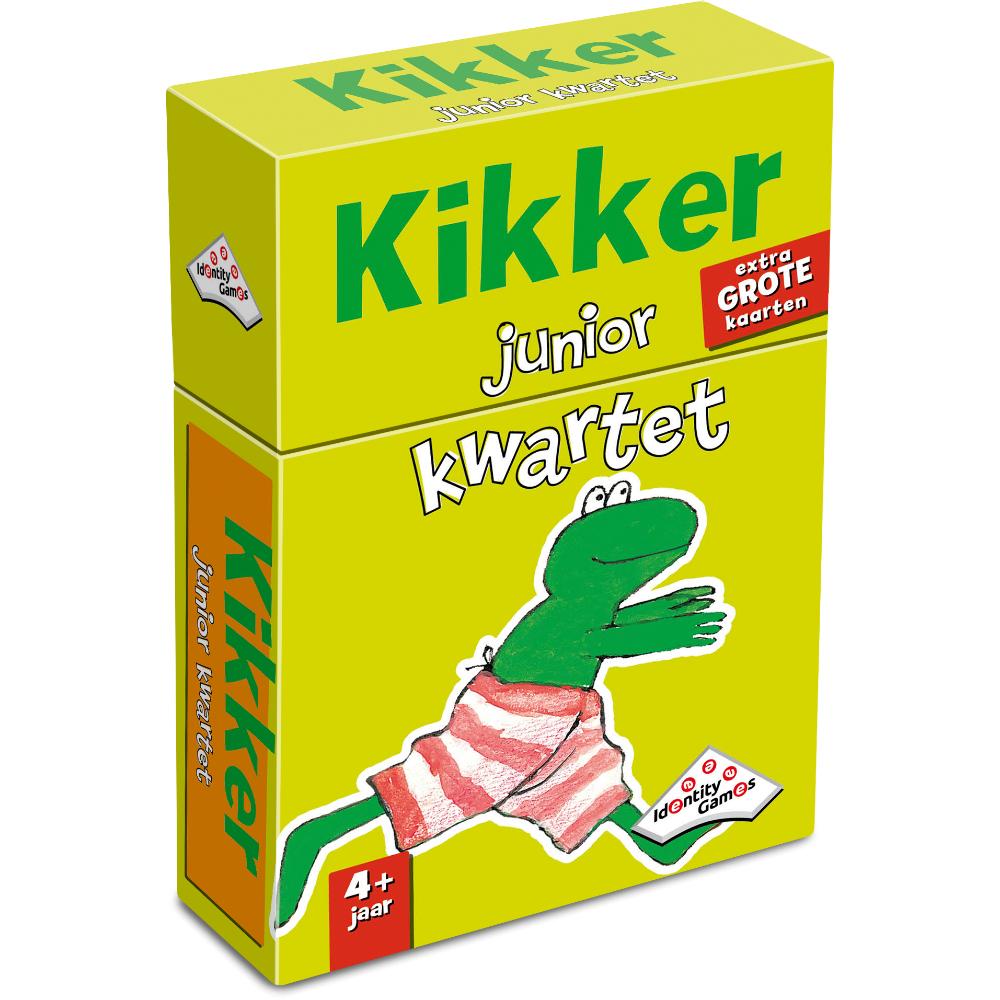 Afbeelding van Spel Kwartet Kikker Junior