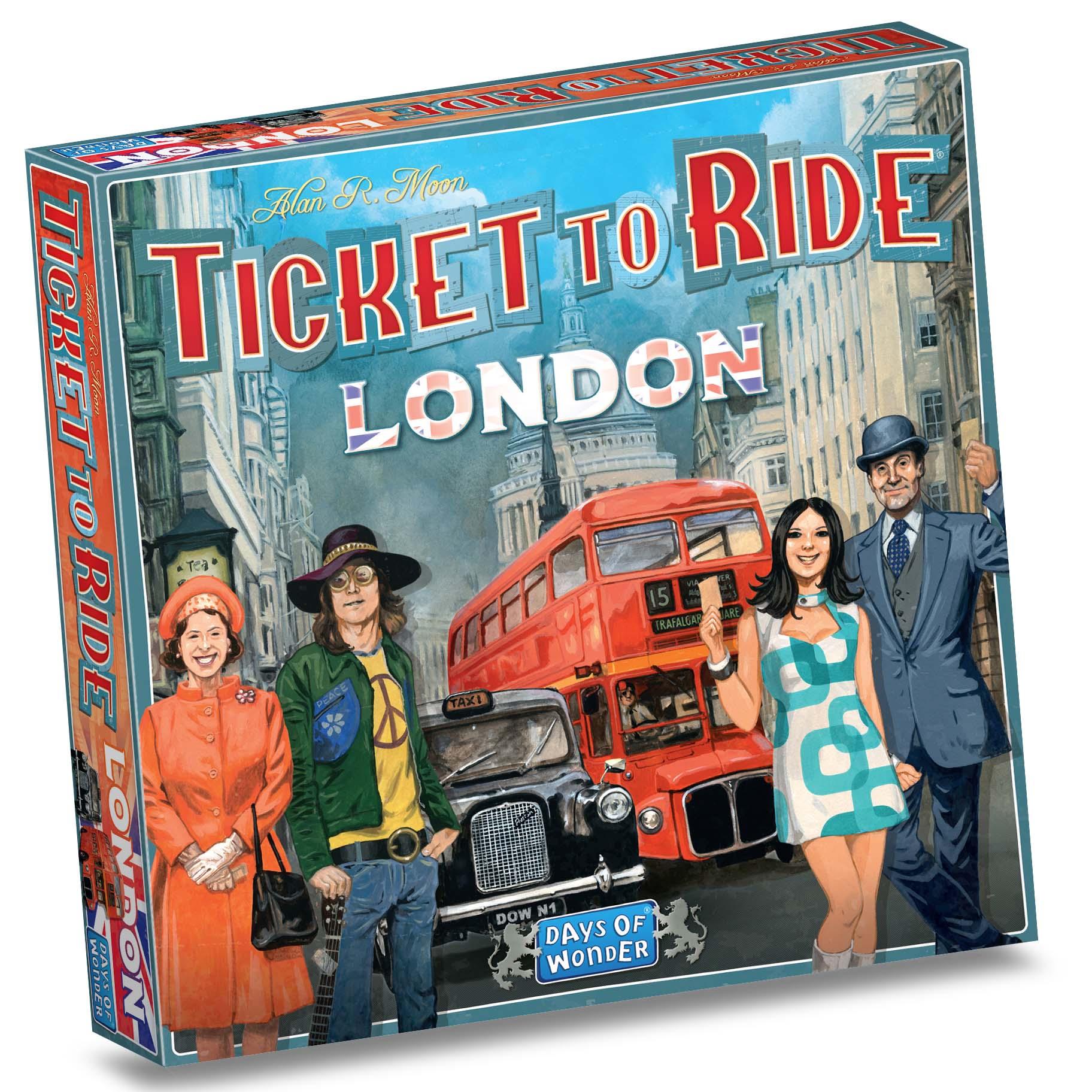 Afbeelding van Spel Ticket To Ride London - NL