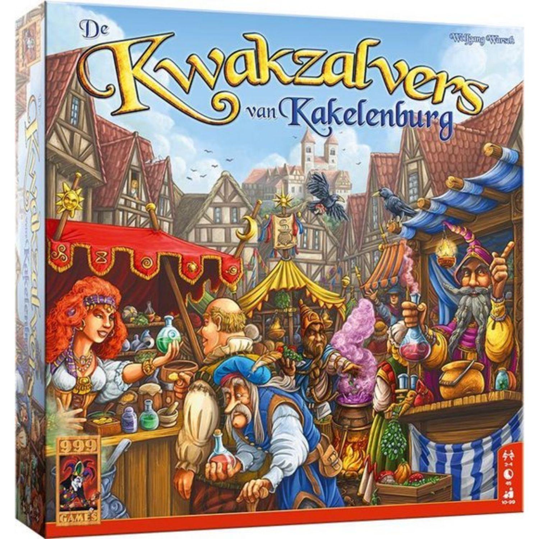 Afbeelding van Spel De Kwakzalvers van Kakelenburg
