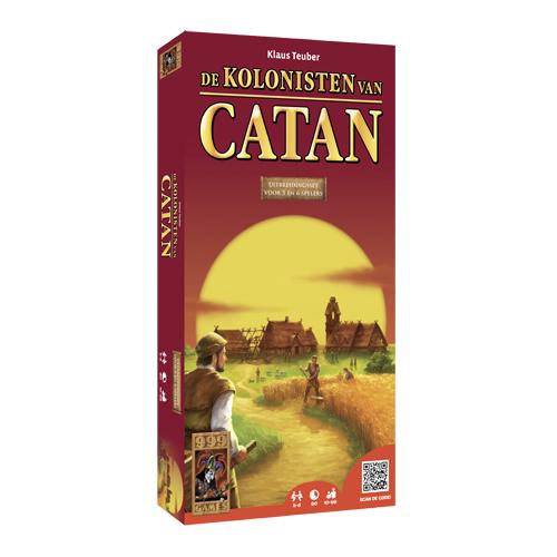 Afbeelding van Spel Kolonisten Van Catan Uitbreiding 5-6 Spelers