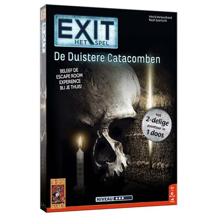 Afbeelding van Spel Exit De Duistere Catacomben