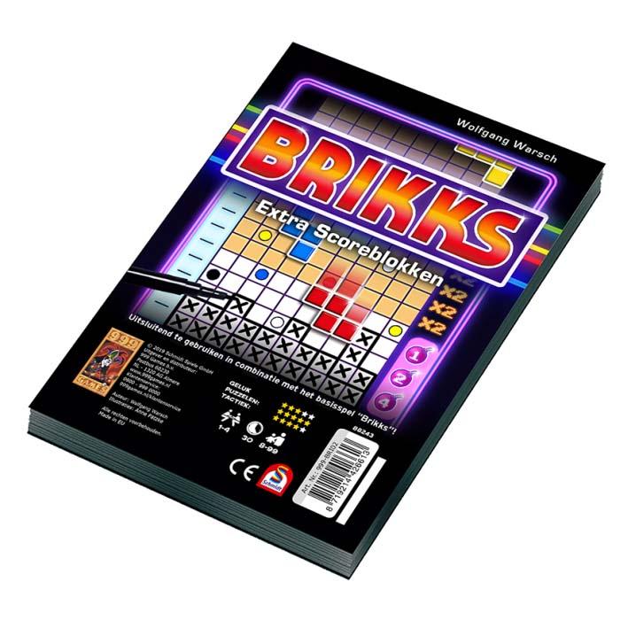 Afbeelding van Spel Brikks Scoreblok 2 Stuks