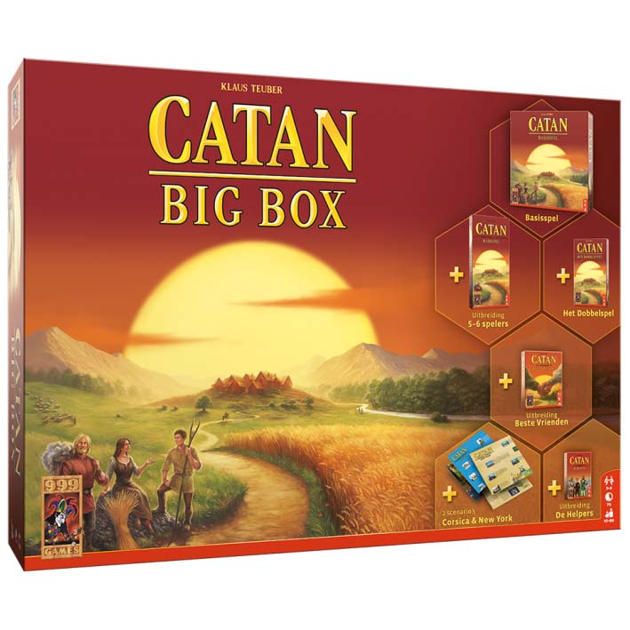Afbeelding van Spel Catan Big Box 2019