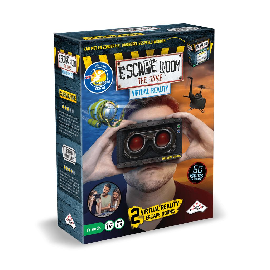 Afbeelding van Spel Escape Room Virtual Reality Uitbreidingsset