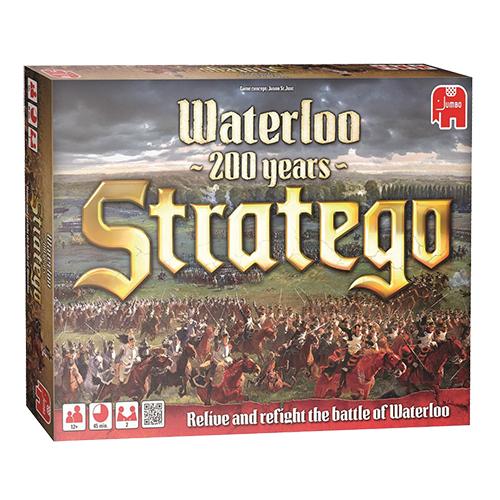 Afbeelding van Spel Stratego Waterloo