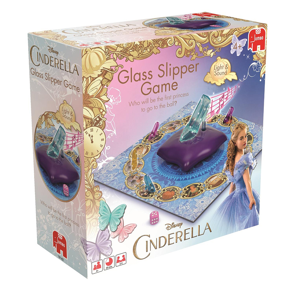 Afbeelding van Spel Disney Cinderella Glazen Muiltjesspel