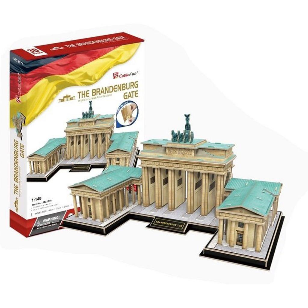 Afbeelding van 3D Puzzel Brandenburger Tor 150 Stukjes