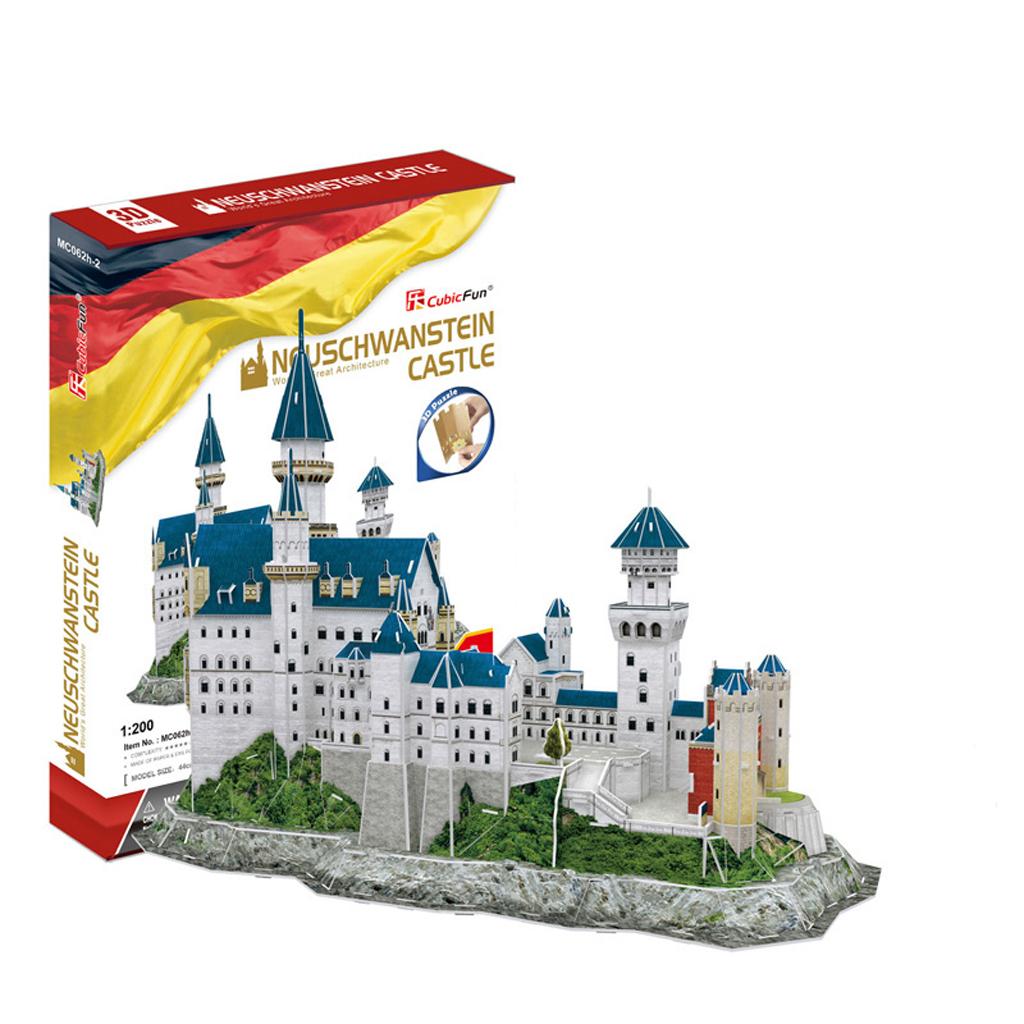 Afbeelding van 3D Puzzel Kasteel Neuschwanstein 121 Stukjes