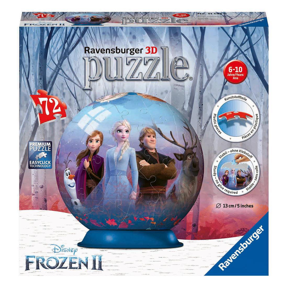 Afbeelding van Puzzel 3D Frozen 2 72 Stuks