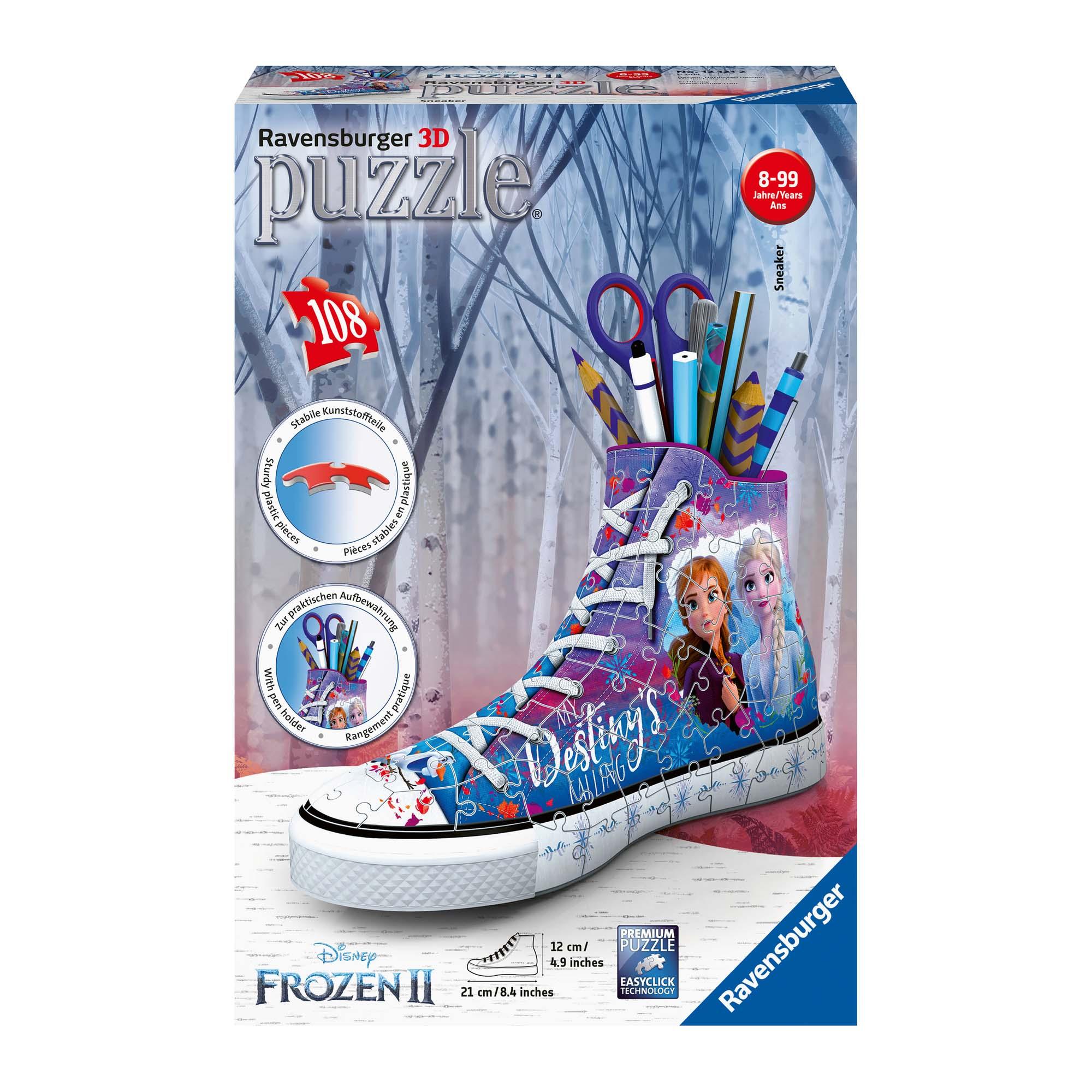 Afbeelding van Puzzel 3D Frozen 2 Sneaker