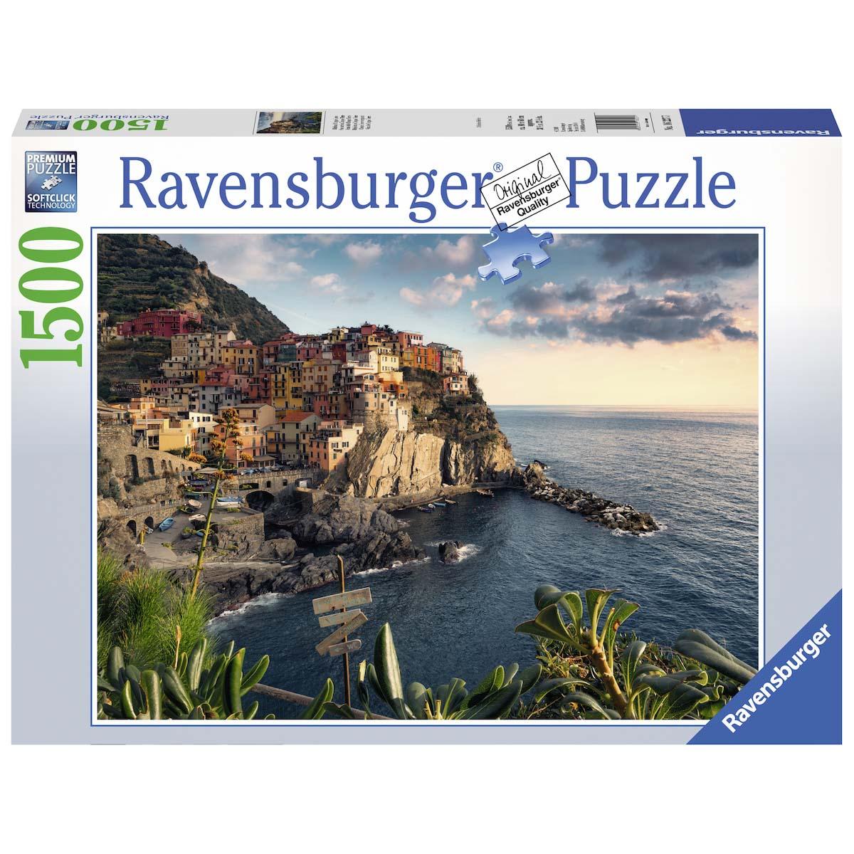 Afbeelding van Puzzel Cinque Terre Uitzicht 1500 Stukjes