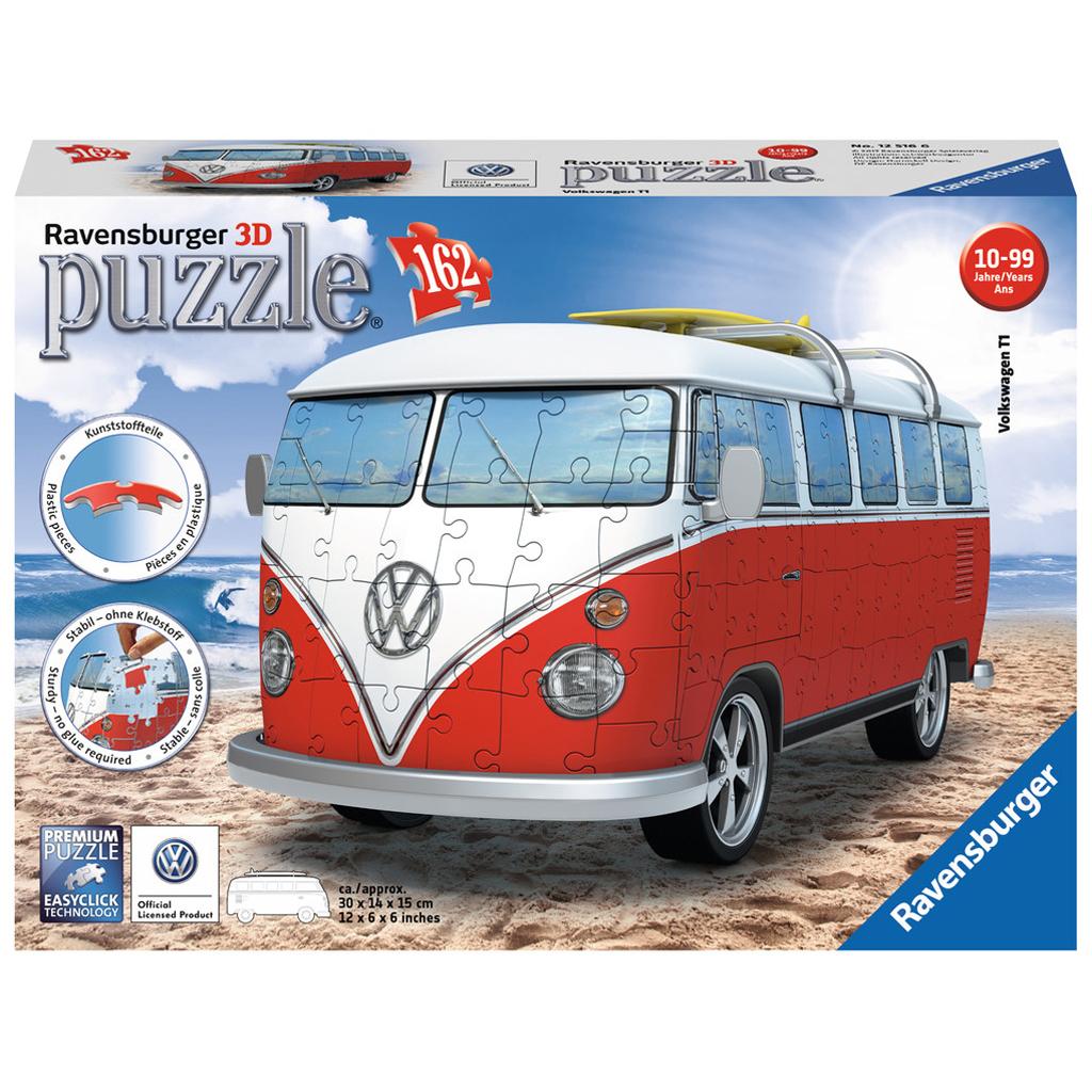 Afbeelding van 3D Puzzel Volkswagen T1 Bulli