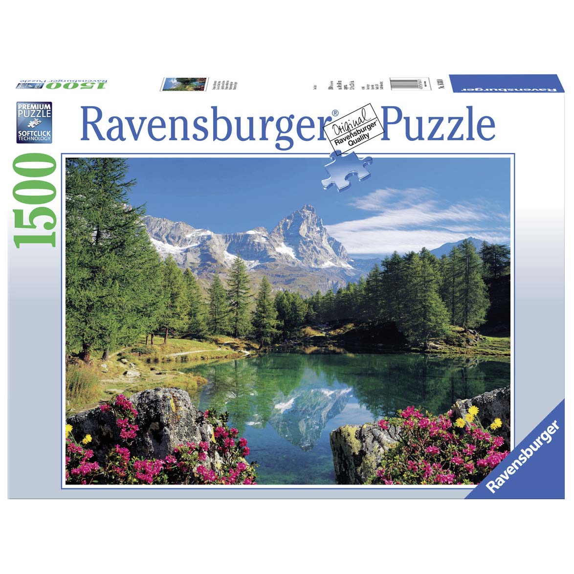 Afbeelding van Puzzel Bermeer Matterhorn 1500 Stukjes