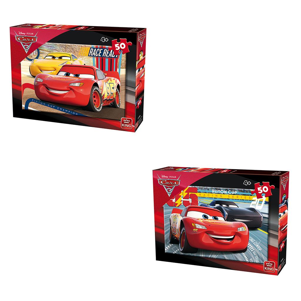 Afbeelding van Puzzel Cars 3 Assorti